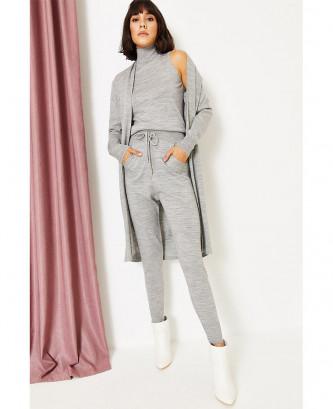 Pyjama Flora Mode - رمادي
