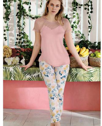 Pyjama efsi casual - Rose