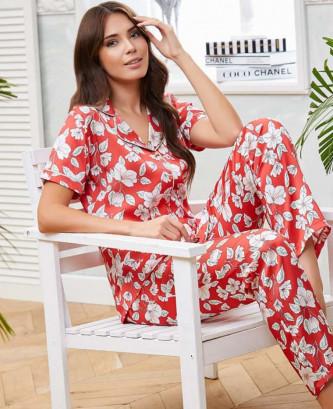 Pyjama flz - Rouge