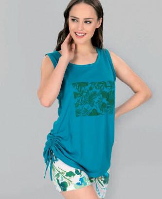 Pyjama maranda - blue lagoon