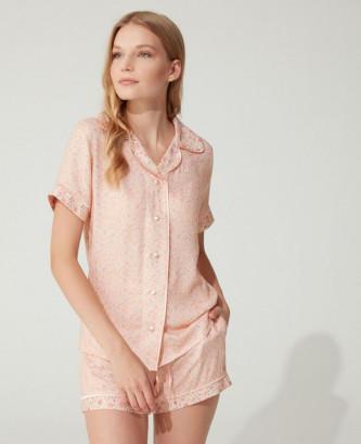 Pyjama feyza - Saumon