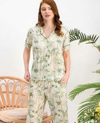 Pyjama arnetta - Vert
