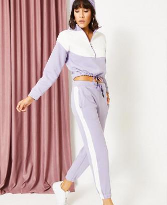 Pyjama poleren - Saumon